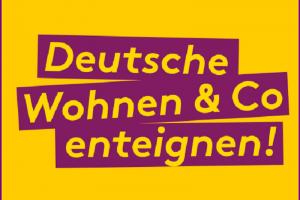 Deutsche Wohnen & Co enteignen. Logo der Initiative