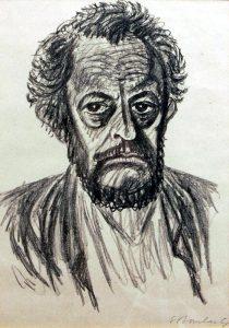 Selbstbildnis Ernst Barlach