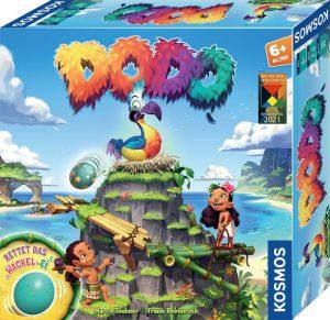 Kosmos Verlag: Dodo - Rettet das Ei. Kinderspiel des Jahres 2021
